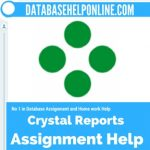 Crystal Reports Assignment Help