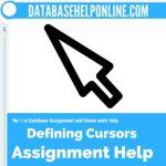 Defining Cursors