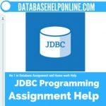 JDBC Programming